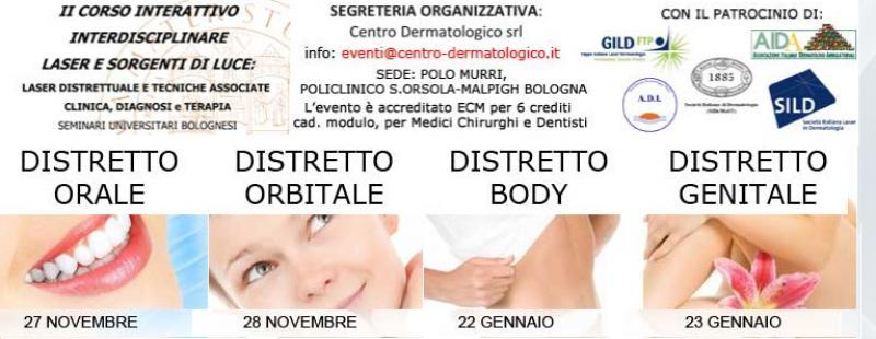 II CORSO LASER E SORGENTI DI LUCE - 22/23 GENNAIO - BOLOGNA